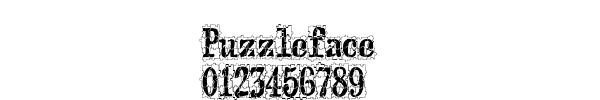 Fuente Puzzleface.ttf